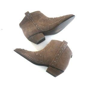 NEW Sam Edelman Brian Western Boots Brown  7.5
